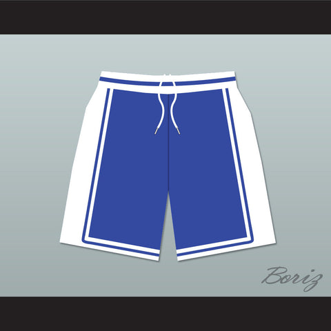 He Got Game Jesus Shuttlesworth Lincoln High School Basketball Shorts Blue - borizcustom