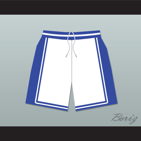 He Got Game Jesus Shuttlesworth Lincoln High School Basketball Shorts White - borizcustom