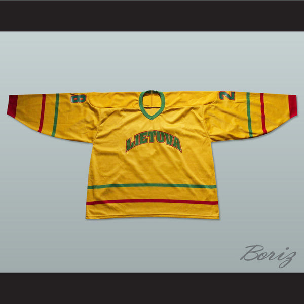 Lithuania National Team Hockey Jersey Any Player or Number - borizcustom