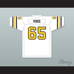 1974 WFL Lloyd Voss 65 New York Stars Home Football Jersey