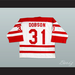 Adam Dobson London Racers Hockey Jersey - borizcustom
