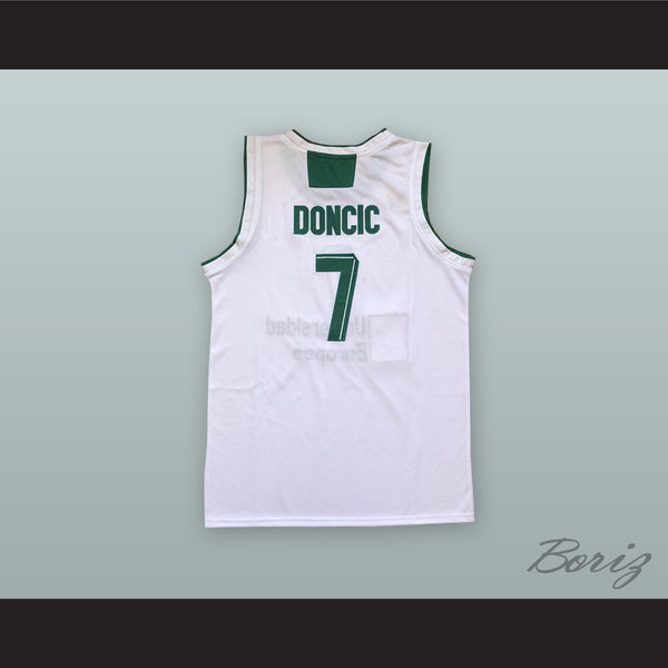 f01c1b6c282f Luka Doncic 7 Real Madrid White Basketball Jersey 3