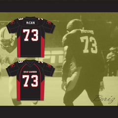 73 McCain Mean Machine Convicts Football Jersey Includes Patches - borizcustom