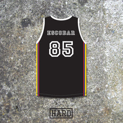 Pablo Escobar 85 Medellín Cartel Colombia Basketball Jersey by HARD - borizcustom - 3