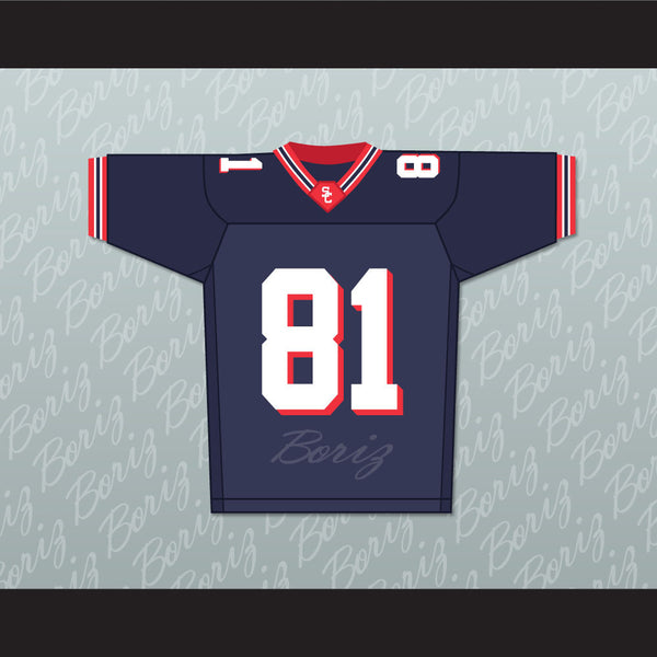 Calvin Johnson 81 Sandy Creek High School Football Jersey Stitch Sewn - borizcustom