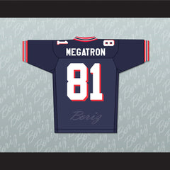 Calvin Johnson 'MEGATRON' 81 Sandy Creek High School Football Jersey Stitch Sewn - borizcustom