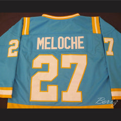 Hockey Legend Gilles Meloche 27 Hockey Jersey California Golden Seals - borizcustom - 5