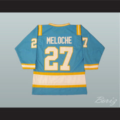 Hockey Legend Gilles Meloche 27 Hockey Jersey California Golden Seals - borizcustom - 2