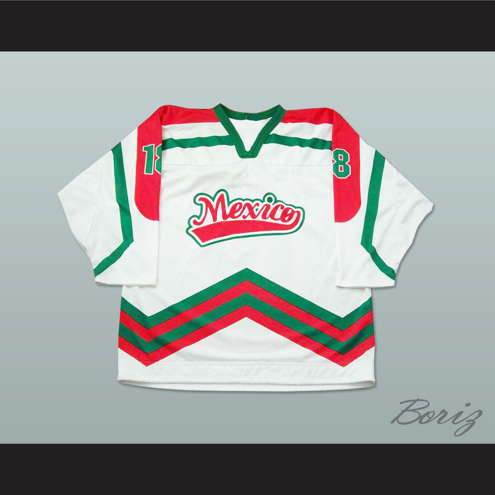 best website ea29f 22ff1 Mexico National Team Hockey Jersey Any Player or Number
