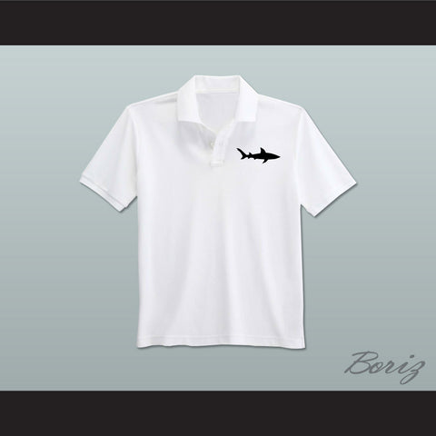 Coaching Staff Miami Sharks White Polo Shirt Any Given Sunday - borizcustom