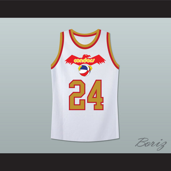 brand new 628f7 eea96 Pittsburgh Mike Lewis 24 Old School Basketball Jersey Stitch Sewn New