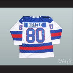 1980 Miracle On Ice Tribute Hockey Jersey to USA Team - borizcustom