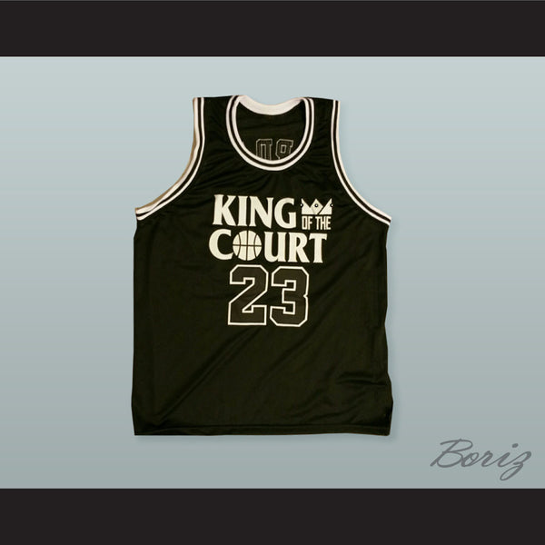promo code 48872 33d29 Michael Jordan 23 King of the Court Ceasar's Palace 1-On-1 Basketball Jersey