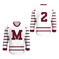 Montreal Maroons 1924-25 Hockey Jersey Any Player or Number New Colors