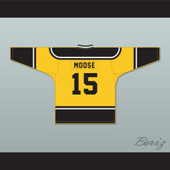 Moose 15 Nuggets Hockey Jersey MVP: Most Valuable Primate