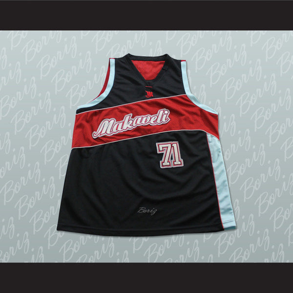 Tupac Shakur 71 Makaveli Basketball Jersey Stitch Sewn Any Player or Number - borizcustom - 1
