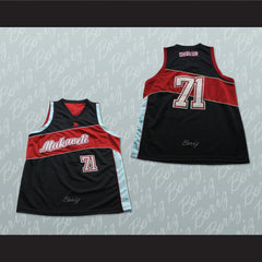 Tupac Shakur 71 Makaveli Basketball Jersey Stitch Sewn Any Player or Number - borizcustom - 3