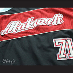 Tupac Shakur 71 Makaveli Basketball Jersey Stitch Sewn Any Player or Number - borizcustom - 5