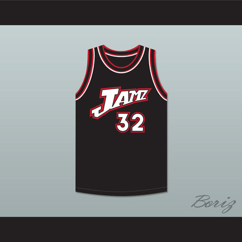 Karl Malone 32 Jamz Basketball Jersey The Man Show