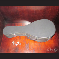 Neapolitan Round-Backed Mandolin 8 String with Mother of Pearl Inlays - borizcustom