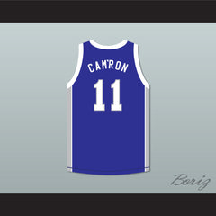 Rapper Cam'ron 11 Manhattan Center Rams Blue Basketball Jersey