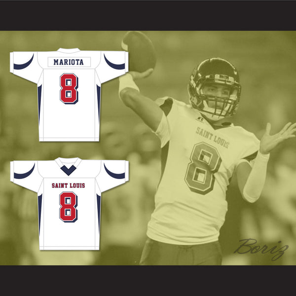 ... Mariota 8 St. Louis High School Crusaders White Footb 84.99 Youth  Oregon Ducks 8 Marcus Mariota Black Football Jersey Product Image · Nike  Mens Color ... 1174d965b