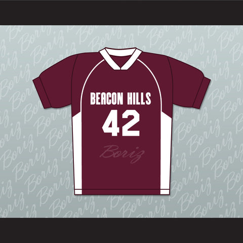 Scott Howard 42 Beacon Hills Cyclones Lacrosse Jersey Teen Wolf - borizcustom