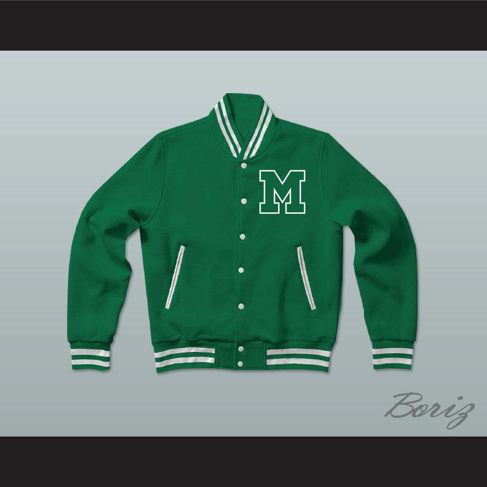 Marshall University Varsity Letterman Jacket Style Sweatshirt