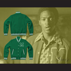 Nate Ruffin Marshall University Varsity Letterman Jacket-Style Sweatshirt We Are Marshall