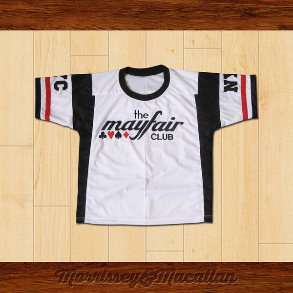 The Mayfair Club Stu Ungar Football Jersey Famous NYC Poker Room by Morrissey&Macallan - borizcustom