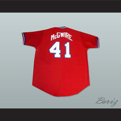 Mark McGwire USA Team Baseball Jersey New Any Size or Player - borizcustom