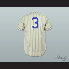 1944 Replica Memphis Chicks Home Pinstriped Baseball Jersey Includes Patches - borizcustom