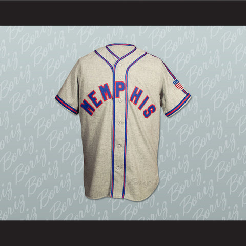 1943 Memphis Red Sox Replica Baseball Jersey Stitch Sewn New Any Number - borizcustom