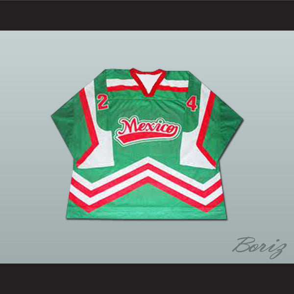 Mexico National Team Hockey Jersey Any Player or Number - borizcustom
