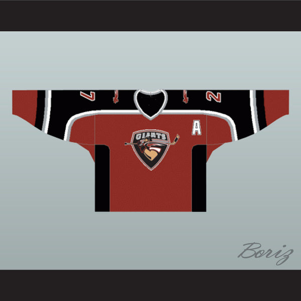 save off 73ecc af5e1 Milan Lucic Vancouver Giants Hockey Jersey Any Name or Number New