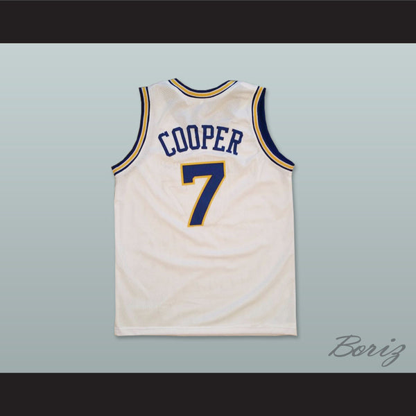 huge selection of 6b694 64900 Mark Curry Mark Cooper 7 Pro Career Basketball Jersey Hangin' with Mr.  Cooper