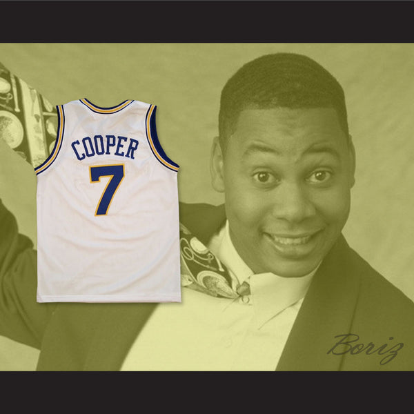 huge selection of eb446 e6fbc Mark Curry Mark Cooper 7 Pro Career Basketball Jersey Hangin' with Mr.  Cooper