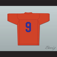 Adam Sandler Bobby Boucher 9 Mud Dogs Football Jersey The Waterboy - borizcustom