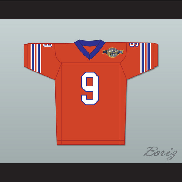 Product Image Bobby Boucher 9 Mud Dogs Home Football Jersey with Bourbon  Bowl Patch - borizcustom ... 07e0423a3b50