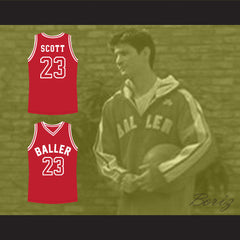 Nathan Scott 23 One Tree Hill Baller Basketball Jersey All Sewn - Any Size - borizcustom