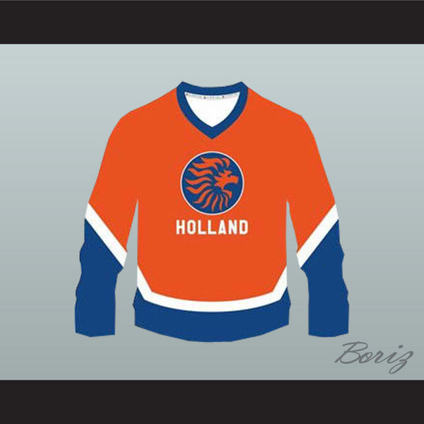 Netherlands Holland National Team Hockey Jersey NEW Stitch - borizcustom