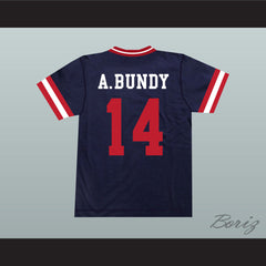 Al Bundy 14 New Market Mallers Baseball Jersey Stitch Sewn New - borizcustom