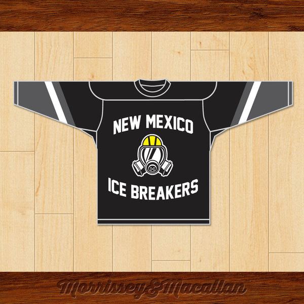 Walter White Heisenberg 52 New Mexico Ice Breakers Hockey Jersey by Morrissey&Macallan - borizcustom