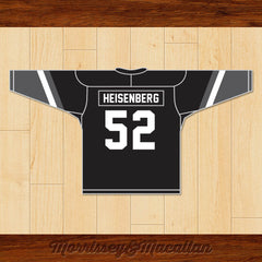 Walter White Heisenberg 52 New Mexico Ice Breakers Hockey Jersey by Morrissey&Macallan - borizcustom - 2