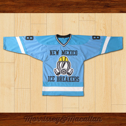 Walter White Heisenberg 88 New Mexico Ice Breakers Home Hockey Jersey by Morrissey&Macallan - borizcustom - 1