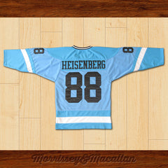 Walter White Heisenberg 88 New Mexico Ice Breakers Home Hockey Jersey by Morrissey&Macallan - borizcustom - 2