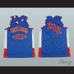 New York City 212 Basketball Jersey NEW Stitch Sewn - borizcustom