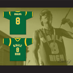 Wiz Khalifa 8 N. Hale High School Football Jersey