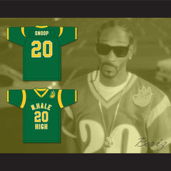 Snoop Dogg 20 N. Hale High School Football Jersey with Patch