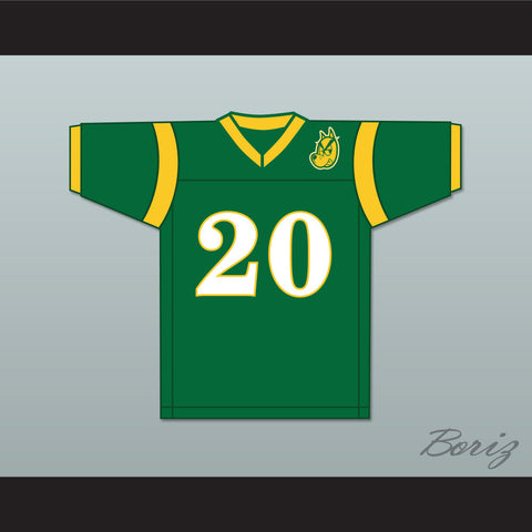 Snoop Dogg 20 N. Hale High Football Jersey Young, Wild and Free with Patch